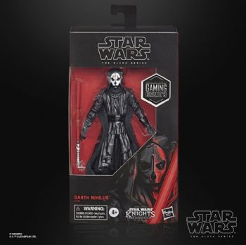"Star Wars The Black Series Gaming Greats KOTOR Darth Nihilus 6"" Action Figure - Pre-order"